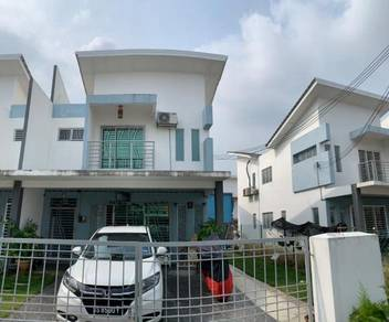 ( END LOT 32 x 75 ) 2 Sty Terrace House, Egreta Saujana Rawang , AEON