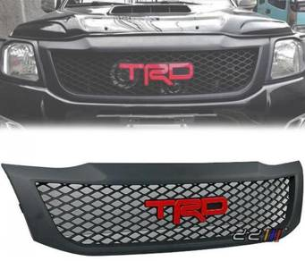 Black Grill Grille For Toyota Hilux VIGO champ 4wd