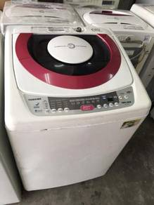 9kg Mesin Basuh Toshiba Auto Recon Top Load Washer