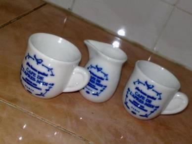 Cawan mini ceramic cup jar 3