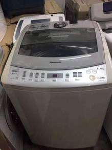 Panasonic 11kg machine washing top load automatic
