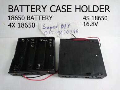 Battery case holder 18650 4S 16.8V Spring 4x18650