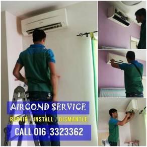 Aircond Servicing Sri Petaling/OUG/Kuchai MON-SUN
