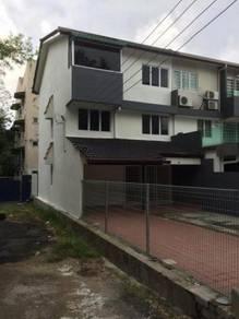 { Rm3k } Full Loan Zero Downpayment 3 storey Endlot with Market Rm800k
