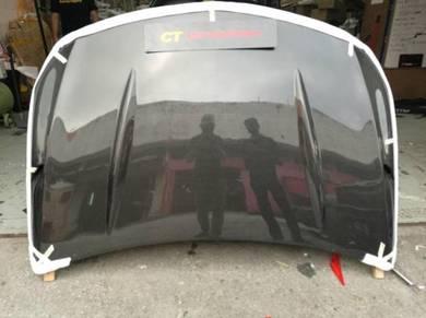 Mercedes W176 A45 Revozport Carbon Fiber Hood