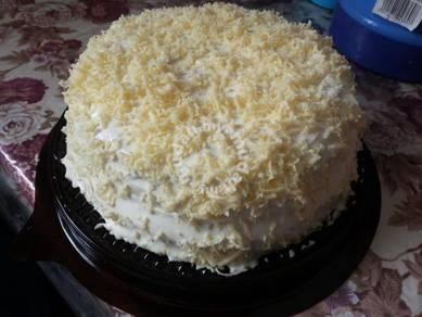 Snow cheese kek