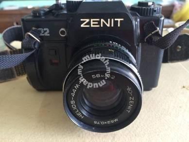 Antique ZENIT 22 Russia Camera/Kamera Antik 005
