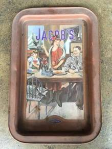 Jacob's Biscuit Papan Iklan Metal Signboard
