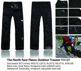 The North Face Fleece Outdoor Trousers
