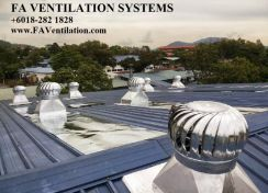 FA US Wind Air Ventilator Exhaust Fan V26TFQ