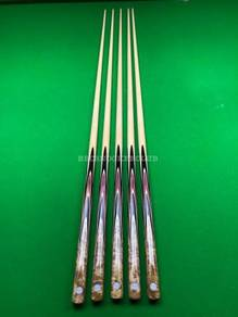 New One Piece Maple Snooker Cue V6