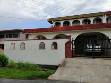 Chawan Road - nearby Anglican Church and Kenyalang