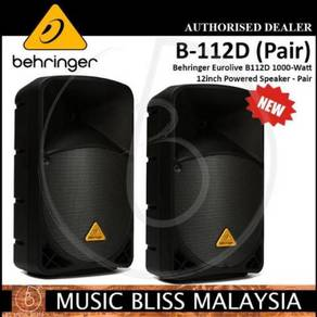 Behringer B112D Speaker - Pair *Crazy Sales
