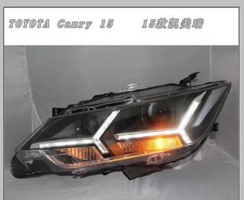 Toyota camry acv51 led headlamp head lamp light A