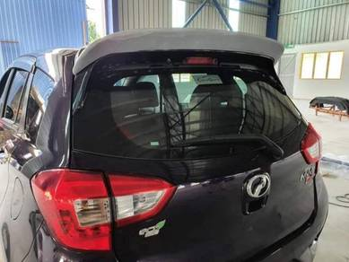 New myvi 2020 add on ducktail spoiler with paint 1