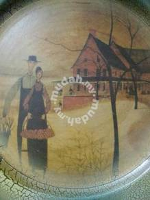Classic plate painting from overseas