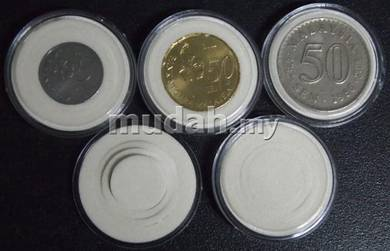 Coin Capsules (15-27mm 10pcs)