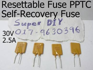 30V 2.5A PPTC resettable fuse Self-Recovery Fuses