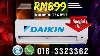 HOT PRICE Daikin Aircond 899 Klang Valley
