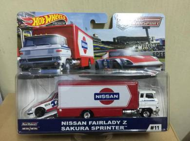Hotwheels Team Transport Nissan Fairlady Z