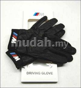 Original BMW Leather Driving Racing Gloves Glove