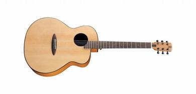 Anuenue l10 Feather Bird Solid Top Acoustic Guitar