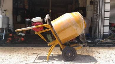 Concrete Mini Mixer Complete With NKT 6.5hp Petrol