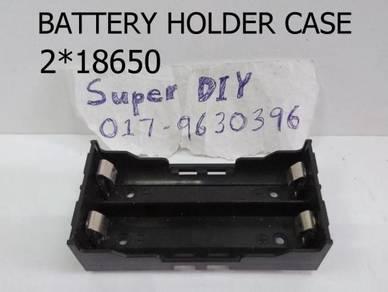 Battery Case Hodlder 18650 2 bateri kotak 18650