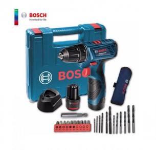 Bosch GSR 12V Cordless Drill Driver + Smart Kit