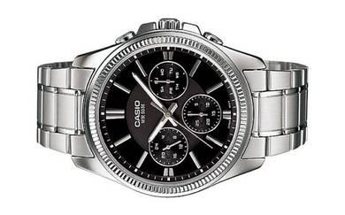 Casio Men Multi Hands Watch MTP-1375D-1AVD