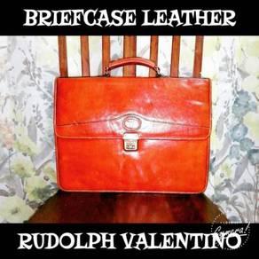 Briefcase Leather Rudolph Valentino