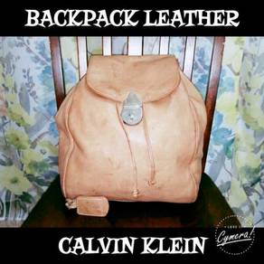Backpack Leather Calvin Klein