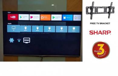 Sharp 60 Inch 4K Android Smart LED Smart TV UHD