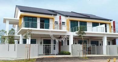 Rebate RM20,000!! New 2 storey terrace house, krubong heights