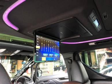 Toyota vellfire alphard 15.6 inch ips roof monitor