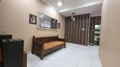 RENOVATED & FULLY FURNITURED - Taman Mengkibol Kluang, Single Storey