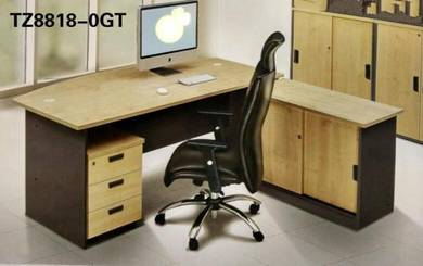 Office Furniture/ 3 In 1 6 FT Table Set #T8818-0
