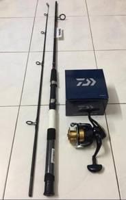 NEW DAIWA Fishing Tackle Combo Set ( Rod + Reel )