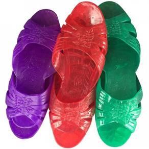 Women's crystal slipper