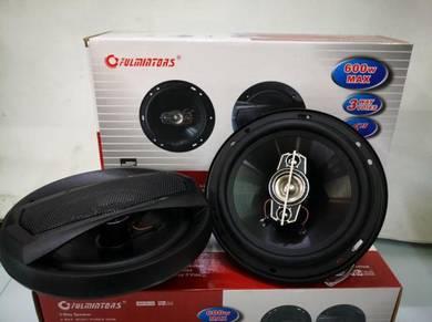 Car speaker fuminator 600watt 6inch 2way speaker