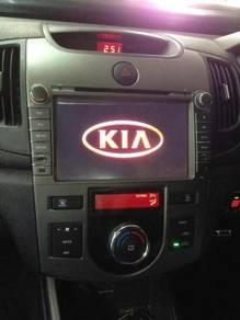 Kia forte oem dvd player with gps full hd