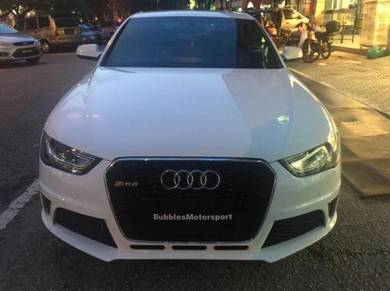 Audi FACELIFT A4 B9 RS style front CONVERSION