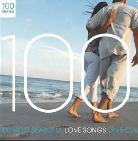 Cd 100 most beautiful love song (5cd)