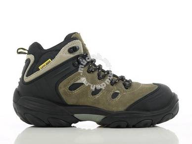 Shoe Safety Jogger Xplore Brown CT MF PU Sport Mid