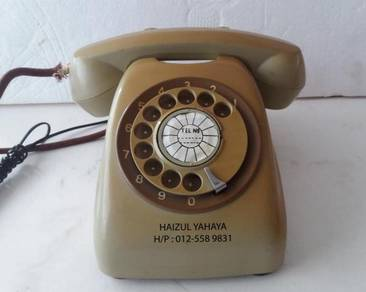 Telefon Antik/Antique Telephone 6
