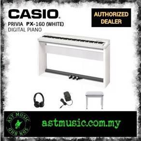 Casio Privia PX160 px-160 White Piano