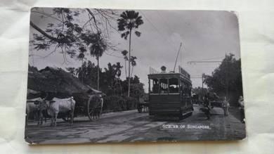 Antik Postcard TRAIN 1920s No 1668 RARE