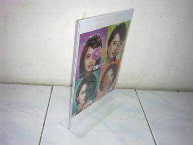 A4 Size (Vertical) T Shape Acrylic Sign Holder