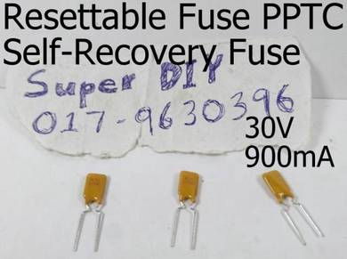 30V 900mA PPTC resettable fuse Self-Recovery Fuses