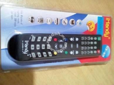 Universal remote/remote box